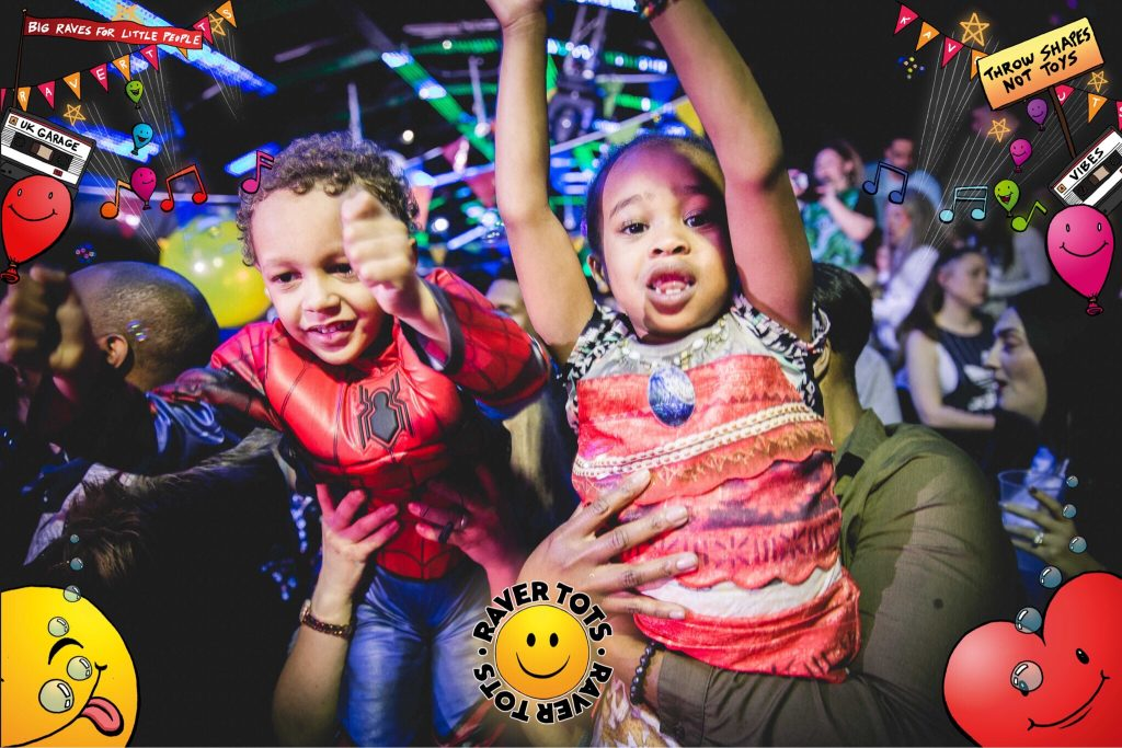 Raver Tots – Competition